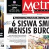 COVER HARIAN METROPOLITAN EDISI 20 APRIL 2018